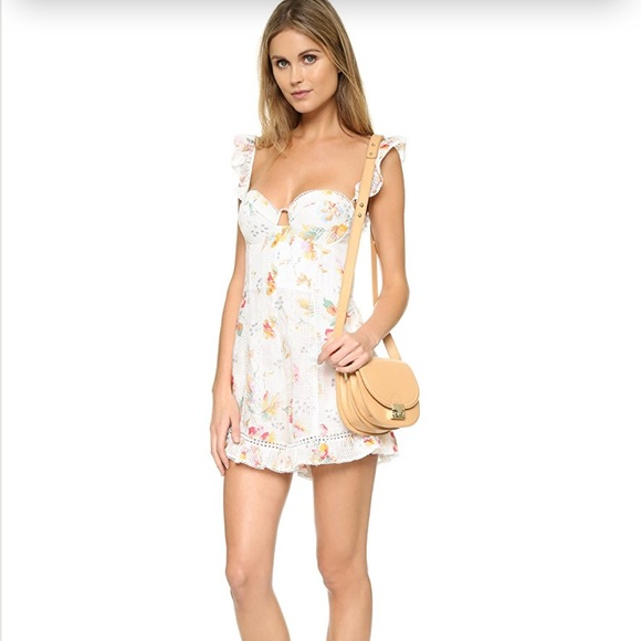 26cf22307093 NWT Zimmermann Floral embroidery Romper